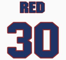National baseball player Red Embree jersey 30 by imsport