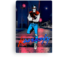 Kavinsky Down Town Canvas Print