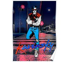 Kavinsky Down Town Poster
