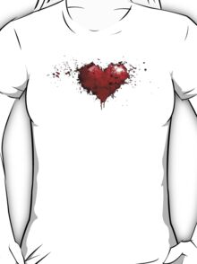 heart painted T-Shirt