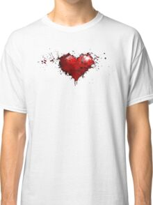 heart painted Classic T-Shirt