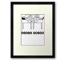 Magic Trick Framed Print