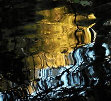 Steps of Gold and Blue by Chris Gudger