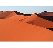 Shapes In The Desert Photographic Print