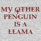Penguin Llama by Ian Porter
