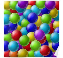 Colorful balls Poster