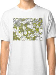 Flowers - White Classic T-Shirt