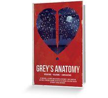 Grey's Anatomy Print Greeting Card