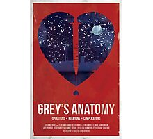 Grey's Anatomy Print Photographic Print