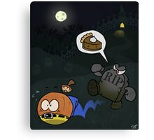 Pumpkin Pie (Banjo Kazooie) Canvas Print