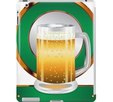 Glass of beer iPad Case/Skin