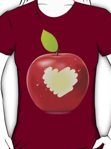 Red apple bite 2 T-Shirt