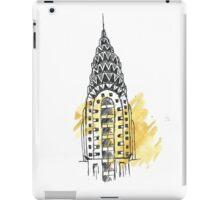 Chrysler Building Pen Sketch iPad Case/Skin