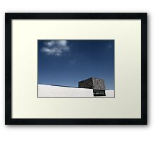 the sky courts Framed Print