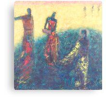 Blue Oblivion Canvas Print