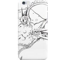 Inktober Zippleback iPhone Case/Skin