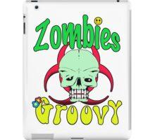 Zombies Groovy  iPad Case/Skin