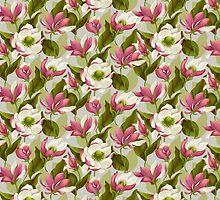 Magnolia Bloom - Morning by celandinestern