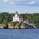 Lighthouse on Pomham Rocks   Narragansett Bay Series *featured by Jack McCabe