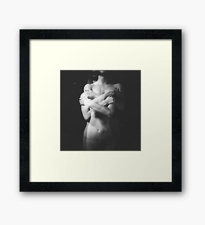 "Hugs (From ""Mystery of Twins"" series) Framed Print"