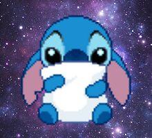 Cute Pixel Stitch by Hunter-Nerd