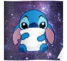 Cute Pixel Stitch Poster
