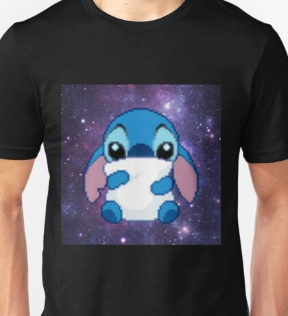 Cute Pixel Stitch Unisex T-Shirt