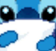 Cute Pixel Stitch Sticker