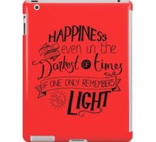 Happiness can be Found iPad Case/Skin