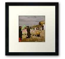 Catazillas of Crenitar Framed Print