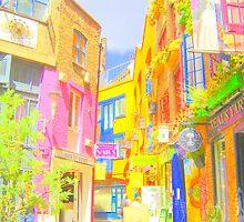 Neal's Yard London by merran