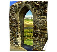 Bude Castle Archway Poster