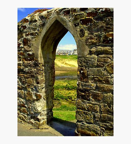 Bude Castle Archway Photographic Print