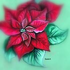 Poinsettias  by Elizabeth Kendall
