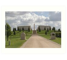 Armed forces Memorial Art Print
