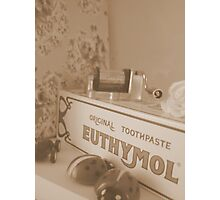Vintage in sepia Photographic Print