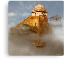 The Floating Palaces of Shingrila Hunza Prime Canvas Print