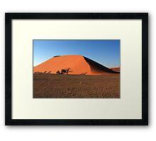 Dune 45 Namibia Framed Print
