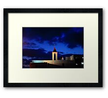 Israel, western Galilee, Acre, 18th century Church of St. John Framed Print