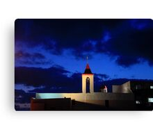Israel, western Galilee, Acre, 18th century Church of St. John Canvas Print