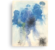 A Study in Blue Canvas Print