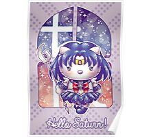 Hello Saturn Poster