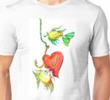 Fishing With Heart Unisex T-Shirt