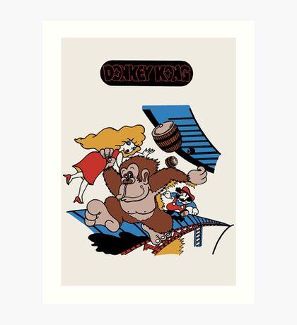 Donkey Kong Art Print