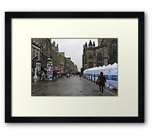Tents by St Giles Framed Print