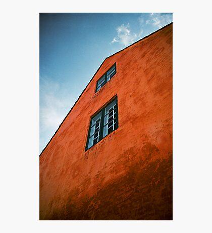 House in Nyboder, Copenhagen, Denmark Photographic Print