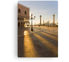 Venice waking up Canvas Print