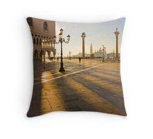 Venice waking up Throw Pillow