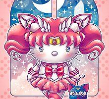 Hello Chibi Moon by Gilles Bone