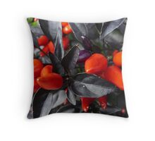 chillies Throw Pillow